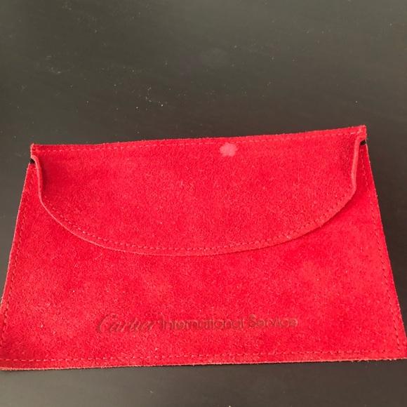 Cartier Other - Cartier suede pouch